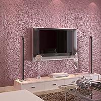 BTJC Solide mura pianura in rilievo PVC goffrato carta da parati soggiorno divano schiuma bianco carta da parati camera da letto completo negozio , wine red
