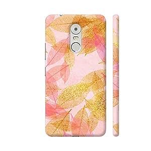 Colorpur Feminine Luxury Autumn Fall Gold Leaves 6 Artwork On Lenovo K6 Note Cover (Designer Mobile Back Case) | Artist: UtART
