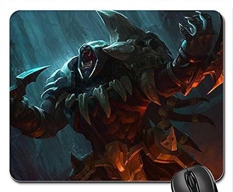 League Of Legends, Headhunter Rengar Mauspad, Mousepad (25,9x 21,1x 0,3cm)