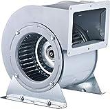 Ventilador Centrífugo AC DOUBLE Inlet zentrifugalventilator Delante DOBLADO