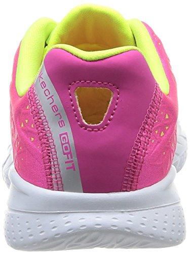 Skechers Go Fit 2 Presto, Baskets mode femme Rose (Hplm)