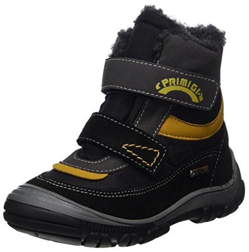 Primigi Pna GTX 8171, Sneakers Hautes Garçon, Gris (Nero/Grigio SC.), 27 EU