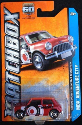 2013 Matchbox 1964 Austin Mini Cooper Adventure City 12 OF 120 by MATCHBOX