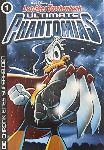 Lustiges Taschenbuch Ultimate Phantomias 01: Die Chronik eines Superhelden