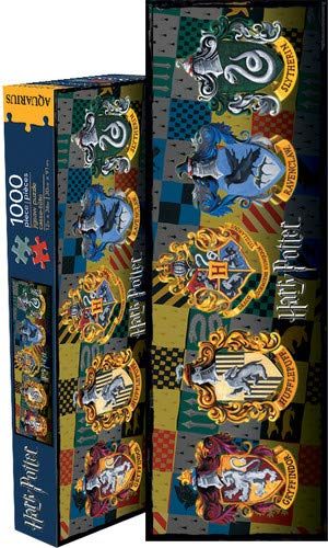 Aquarius Harry Potter Wappen 1000-teiliges Slim-Puzzle