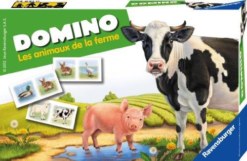 Ravensburger - 24641 - Jeu éducatif premier âge - Domino Les Animaux