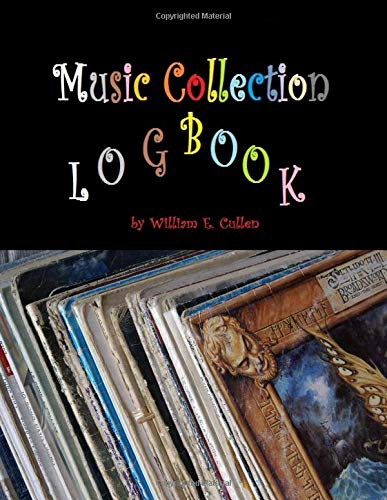 Music Collection Logbook: Music  Formats DVD CD LP Single Downloads Fusion Compact