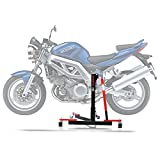 ConStands Power Evo-Zentralständer Suzuki SV 650/ S 99-02 Rot Motorrad Aufbockständer Montageständer Heber