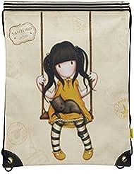 Bolsa mochila Gorjuss – Ruby Yellow