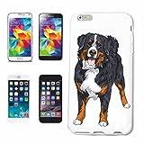 Reifen-Markt Etui pour téléphone Portable Compatible pour iPhone 6 Chien DE Montagne Bernois Chien ELEVAGE Maison Chiens Kennel ÉLEVEURS Puppy Formation Care...