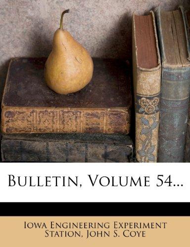 Bulletin, Volume 54...