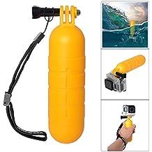 Fantaseal® Mango Flotante Accesorios de Buceo Bobber Flotador Anti-deslizante para GoPro Hero 4 / 3+ / 3 / GoPro Session , SJCAM, SJ6000 / SJ5000 / SJ4000, Garmin Virb XE y más Cámaras de Acción