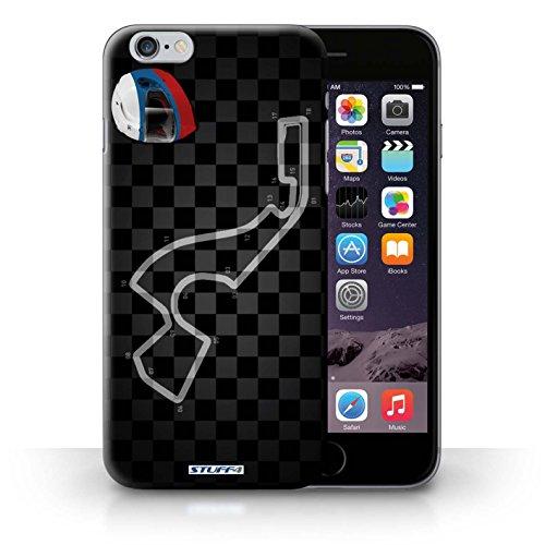 Kobalt® Imprimé Etui / Coque pour iPhone 6+/Plus 5.5 / USA/Austin conception / Série 2014 F1 Piste Russie/Sochi