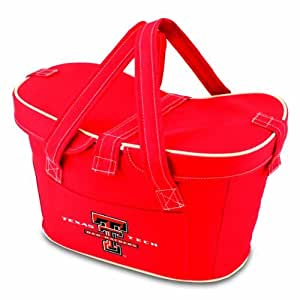 NCAA Texas Tech Rot Raiders Mercado Kühltasche Einkaufskorb Isoliertasche, rot Farbe: Texas Tech rot Raiders Outdoor, Home, Garten, SUPPLY, Wartung