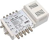 DUR-line DCR 5-2-4-K SCR-Schalter - Einkabellösung für 2x4 SCR-Teilnehmer (Kaskadierbar) - 2x Test