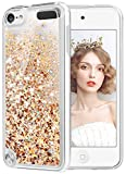 wlooo Coque pour iPod Touch 5/6, iPod Touch 5 Silicone Coque, iPod Touch 6 Glitter...
