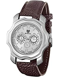 Om Collection Dressy New Looks Silver Case With Silver Dial With Unique Colour Strap Watch For Men And Boys-omwt-83