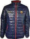 Barça Daunenjacke, offizielles Produkt von FC Barcelona, Erwachsenengröße, für Herren L marineblau