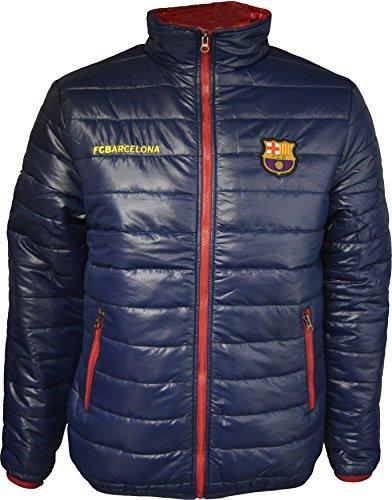 Barça Daunenjacke, offizielles Produkt von FC Barcelona, Erwachsenengröße, für Herren XL marineblau (Barcelona Handschuhe)