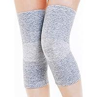 GSS- Rodillera Soporte de Rodilla Deportes Calentador de piernas Artritis Viejo Frío Piernas Unisex Viejo Hombre Reumatismo Piernas (Tamaño : Metro)