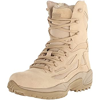 """Reebok Wide Fitting Rapid Response Stealth 8"""" Boot with"""