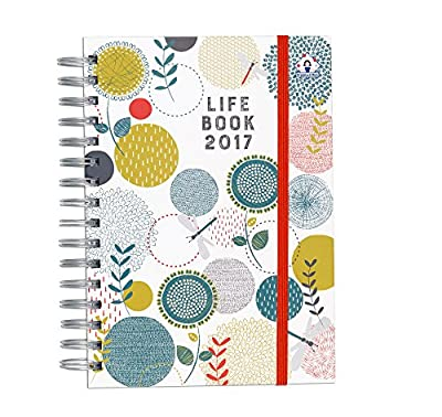 2017 Organised Mum Life Book diary designed to manage busy lives and families. A5 diary organiser (start straightaway and use until December '17). Week-to-view with large spaces for each day and useful organisational features.