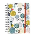 Organised Mum 2017 Life Book in ENGLISCHER SPRACHE  Wöchentlicher Familienplaner mit hilfreichen organisatorischen Funktionen