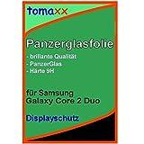 Samsung Galaxy Core 2 Duos Glas Glasfolie 9H Panzerglas Panzerglasfolie Schutzfolie