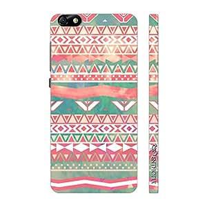 Enthopia Designer Hardshell Case Aztec Art 3 Back Cover for Huawei Honor 4X