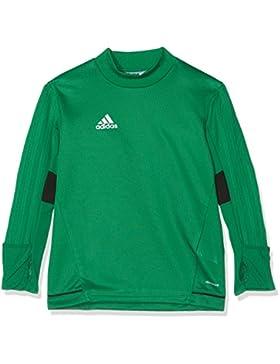 adidas Tiro17 Trg Topy Camiseta, Niños, Verde (Verde / Negro / Blanco), 140