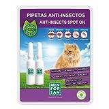 Menforsan  Spray Anti-Insectos Con Margosa, Geraniol Y Lavandino Perros  2 x 1.5 ml