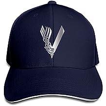 Hittings KMRR Vikings Tv Show Platinum Style Flex Baseball Cap Navy Navy
