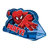 Generique - 8 Cartes dinvitation avec enveloppes Spiderman...