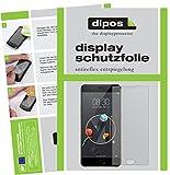 dipos I 2X Schutzfolie matt passend für ZTE Nubia M2 Lite Folie Displayschutzfolie