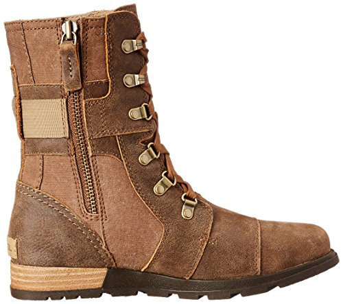 Sorel Major Carly, Damen Kurzschaft Schlupfstiefel Braun (260)