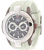 Cerruti Herren Armbanduhr Hellgrau CRA097E275G