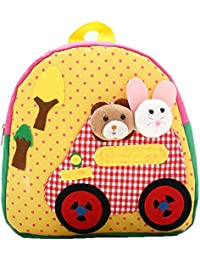 Preisvergleich für PENGYUE Kinderrucksack Kindergartenrucksack Kinder Rucksack Bestickt mit Tier Karikatur Stickerei Niedlicher Lässig...
