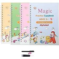 CARDEX Sank Magic Practice Copybook, Number Tracing Book for Preschoolers with Pen, Magic Calligraphy Copybook Set…