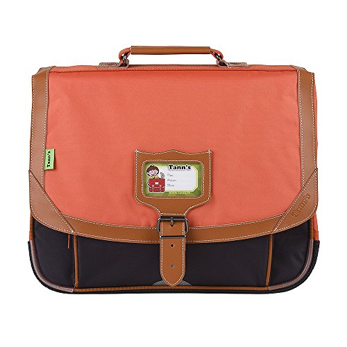 Cartable 38 Orange-Gris Tann's ICONIC