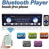 AUDEW Stereo Auto Bluetooth Autoradio Vivavoce Radio FM USB MP3 AUX SD Card 60W X 4 UK