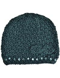 Girls Bonnet en tricot Jacquard avec Paillettes Couleurs variées Taille unique