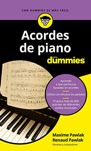 Acordes de piano para Dummies por Maxime Pawlak