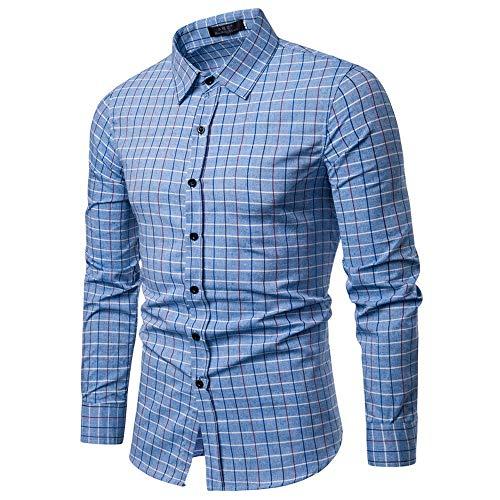 Langarmshirt Für Herren, Langärmliges Shirt Resplend Mode T-Shirt Bluse Revers Lange Ärmel Hemd Top