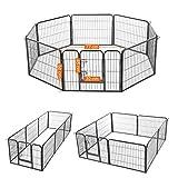 Songmics Welpenauslauf für Hunde Kaninchen 80 x 60 cm PPK86G - 2