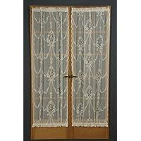 D. Kwitman e figlio American Balmore-Pannello porta, in cotone/poliestere, natur, 36-inch x 25-inch