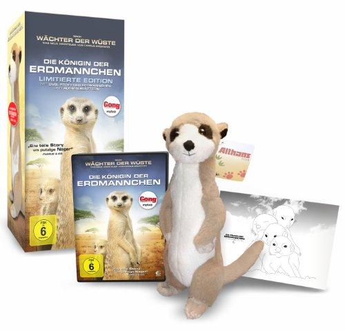Die Königin der Erdmännchen - Collectors Edition (DVD, Stofftier und 4 Ausmalblätter) - Serengeti Vier