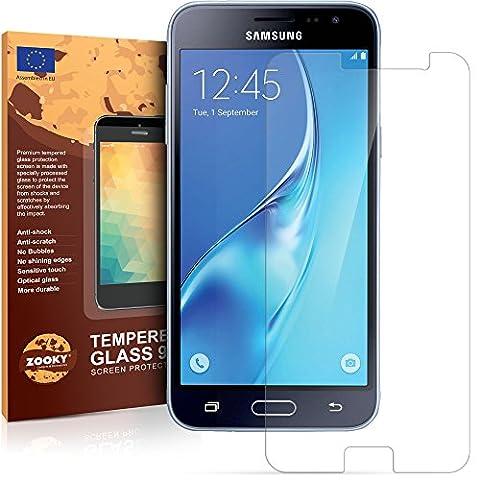 Samsung Galaxy J3 2016 Verre Trempé Protection écran de meilleure qualité de Zooky®