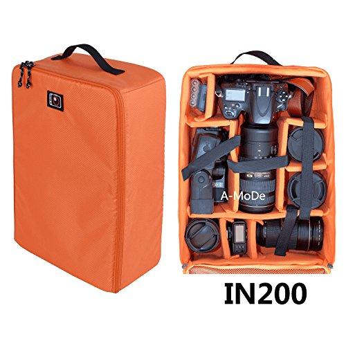 DSLR grande capacità bagagli inserto impermeabile antiurto divisorio imbottito fotocamera mirrorless, lente, flash, batteria e altri accessori borsa custodia per 1D D5DJI IN200