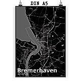 Mr. & Mrs. Panda Poster DIN A5 Stadt Bremerhaven Stadt