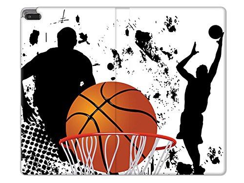 Essential Basketball (etuo Handyhülle für Lenovo Tab 4 7 Essential - Hülle Flex Book Fantastic - Basketball - Tablethülle Schutzhülle Etui Case Cover Tasche für Tablet)